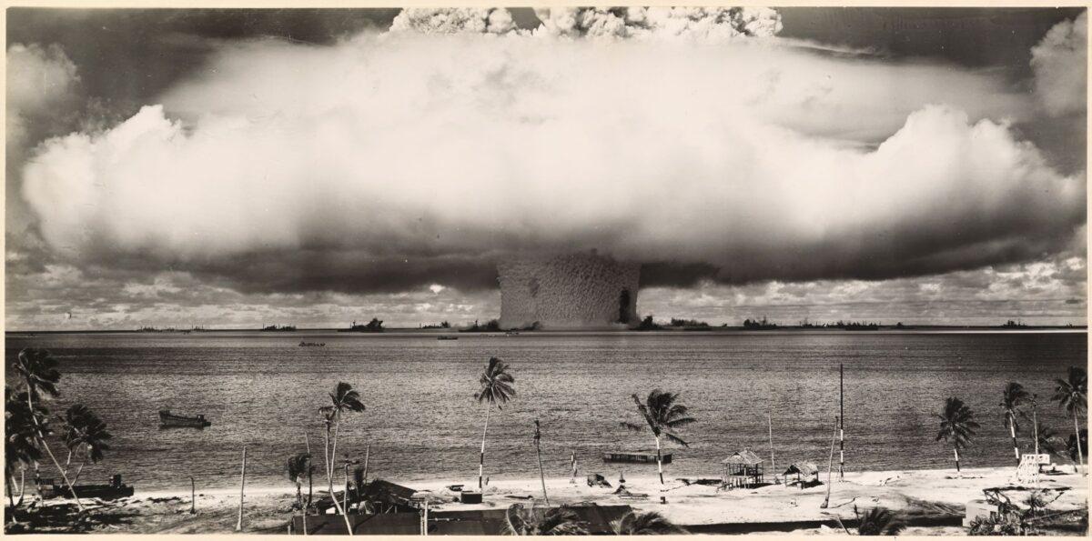 nuclear explosion bikini atoll